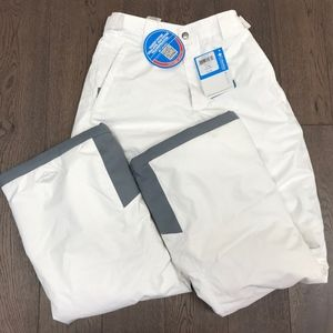Columbia Youth Bugaboo Snow Pants White Omni Heat
